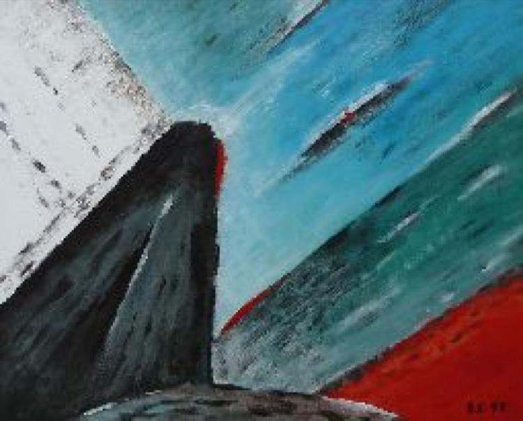 Bernard Vlaar beeldend kunstenaar Laren - Titanic